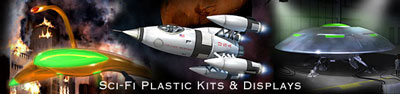 Sci-Fi Kits and Displays